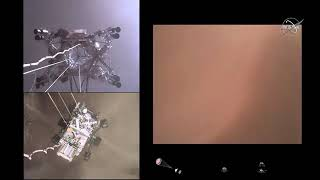 NASA unveils new video of Perseverance rover landing on Mars, sounds from Martian surface | ABC7