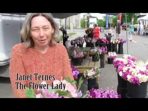Oakville Farmers' Market - The Flower Lady
