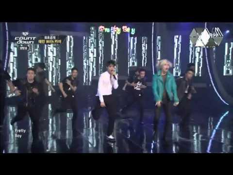 140821[Vietsub] Pretty Boy {Taemin ft Kai(EXO)} @ M!Countdown