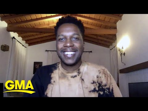 Leslie Odom Jr. talks about 'Hamilton' on Disney+ l GMA