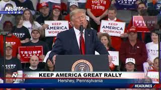 FULL RALLY: President Trump in Hershey, Pennsylvania