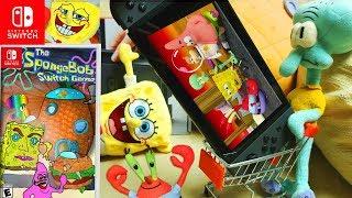 Spongebob Squarepants on Nintendo Switch Commercial