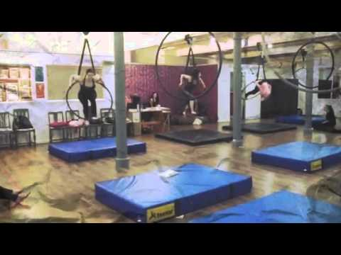 Advanced aerial hoop class Stockport