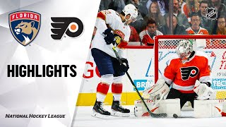NHL Highlights | Panthers @ Flyers 2/10/20