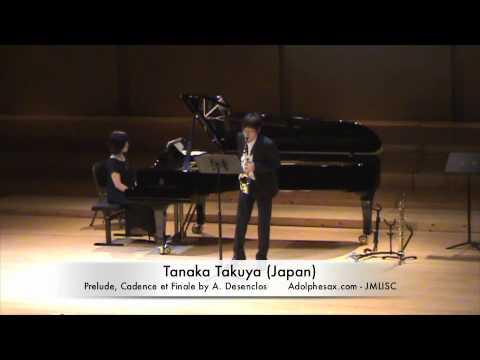 3rd JMLISC Tanaka Takuya (Japan) Prelude, Cadence et Finale by A. Desenclos