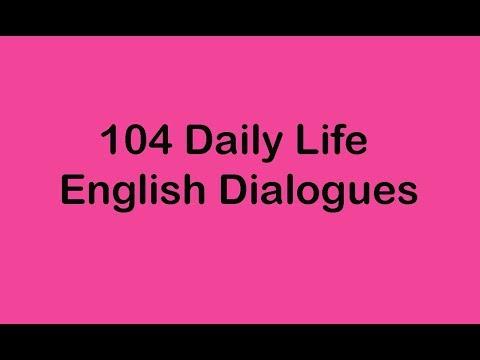 104 Daily Life English Dialogues