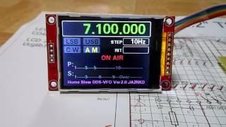 DDS AD9850 VFO signal generator SETTINGS - OM0ET