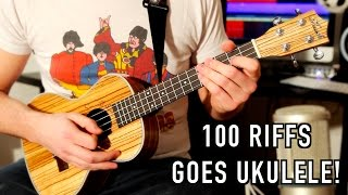 100 Rock Riffs Go Ukulele! Part Two
