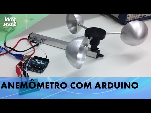ANEMÔMETRO COM ARDUINO