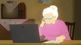 Doi Degeaba S04E18 : Bunica la laptop