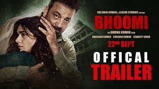 Bhoomi 2017 Official Trailer – Sanjay Dutt