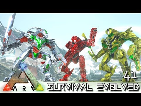 ARK: SURVIVAL EVOLVED - MEK BREEDING A POWER HOUSE !!! | ARK EXTINCTION ETERNAL E41