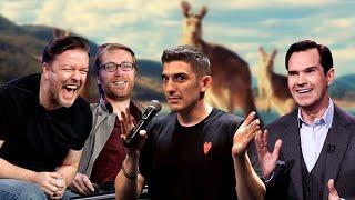 Comedians on Australians