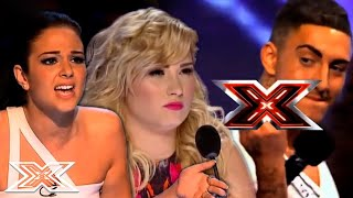 UNHAPPY Contestants INSULT The Judges On The X Factor UK And X Factor USA   X Factor Global