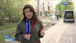 В Омске началась акарицидная обработка парков и скверов
