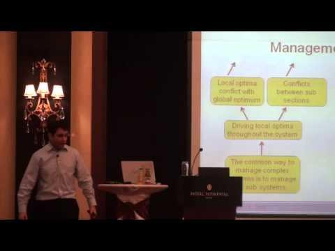 """Рами Голдратт, III Европейская TOCICO Конференция """"Х-файлы"""" (Киев, 2011)"""