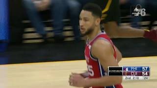 Ben Simmons   Highlights vs Cleveland Cavaliers (12.16.18)