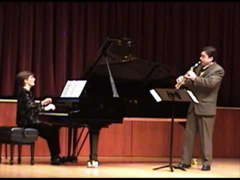 Astor Piazzolla - Oblivion (soprano saxophone and piano)