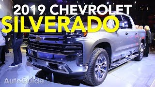 2019 Chevrolet Silverado First Look - 2018 Detroit Auto Show -