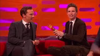 Benedict Cumberbatch, Tom Hiddleston, and Eddie Redmayne being friends
