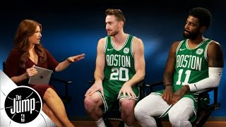 Rachel Nichols' full conversation with Gordon Hayward and Kyrie Irving | The Jump | ESPN