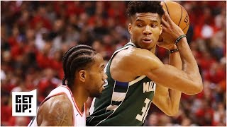 Giannis was forced to dribble too much against Kawhi - Stephen A.  | Get Up!
