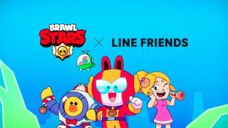 Brawl Stars Animation: LINE FRIENDS Skins incoming!