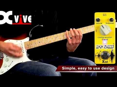 X-Vive Xvive V9 Lemon Squeezer Analog Compressor Pedal