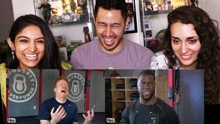 CONAN HITS THE GYM WITH KEVIN HART - Reaction w/Cosima & Fizaa!