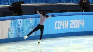 Olys 2014 practice Mao Asada