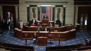 Reaction on House floor as health care bill is pulled