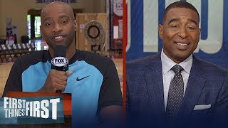 Vince Carter on LA-Bron, NBA super teams and joining the Atlanta Hawks | NBA | FIRST THINGS FIRST