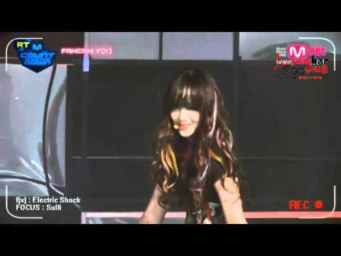 120614 f(x) - Backstage 後台花絮 @ M!countDown