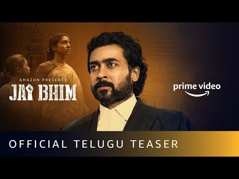 Jai Bhim Telugu Teaser- Suriya