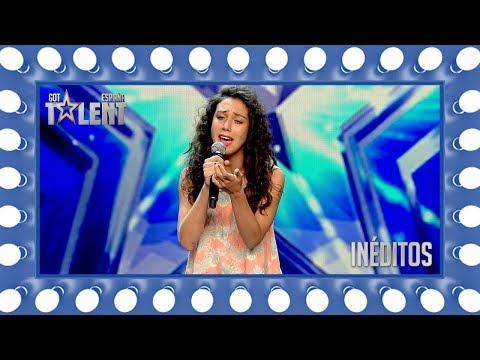 Esta joven se atreve a cantar un temazo de Alejandro Sanz   Inéditos   Got Talent España 2018