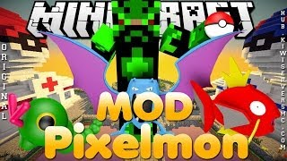 Divulgação de Server Minecraft 1.6.4 MOD Pixelmon