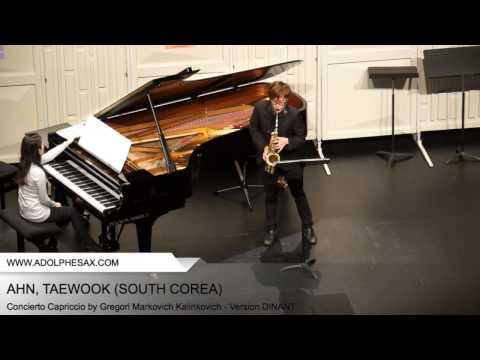 Dinant 2014 - AHN, Taewook (Concierto Capriccio by Gregori Markovich Kalinkovich - Version DINANT)