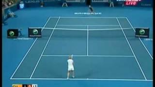 Clijsters vs Henin Brisbane International Fina l2010
