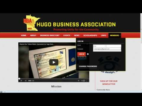 Add Business Listing to HBA Site