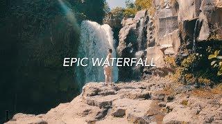 EPIC WATERFALL IN BALI INDONESIA! | Bali Travel Vlog 2017