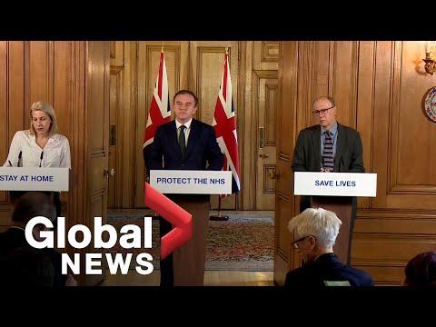 Coronavirus outbreak: UK officials provide update on COVID-19 response | FULL