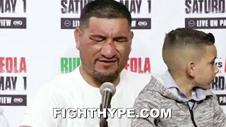CHRIS ARREOLA EMOTIONAL IMMEDIATE REACTION AFTER LOSS TO ANDY RUIZ: