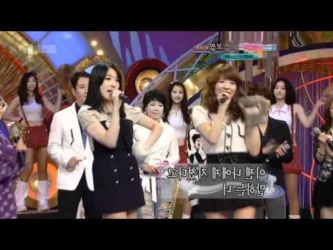100509 SNSD Sunny &Tiffany - T-ara Bo Peep Bo Peep