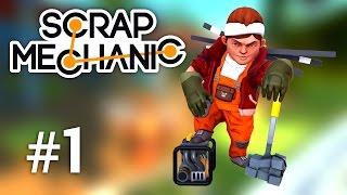Scrap Mechanic | Max mecanic si constructor