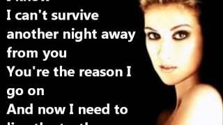 Celine Dion - I SURRENDER+LYRICS