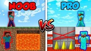 Minecraft NOOB vs. PRO: DEADLY TRAP in Minecraft!
