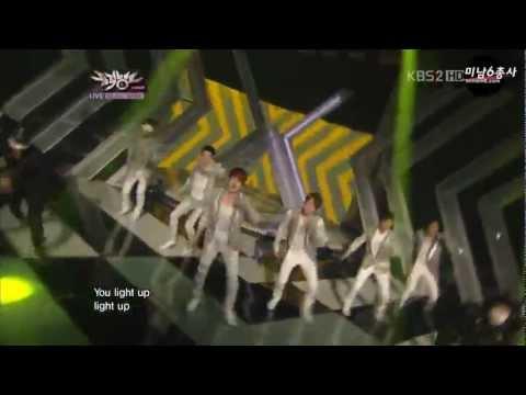 120330 Shinhwa Comeback Stage - Hurt & Venus @ MusicBank