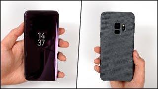 Die besten Cases für das Galaxy S9 & S9+? - Samsung Hyperknit & Clear View Standing Cover   SwagTab