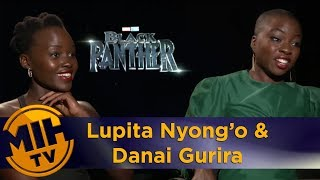 Lupita Nyong'o and Danai Gurira: Black Panther interview
