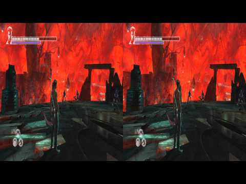(3D & 4K) Devil May Cry 3840x2160 Furnace of Souls (M. 17) (Ultra HD) Oculus Rift